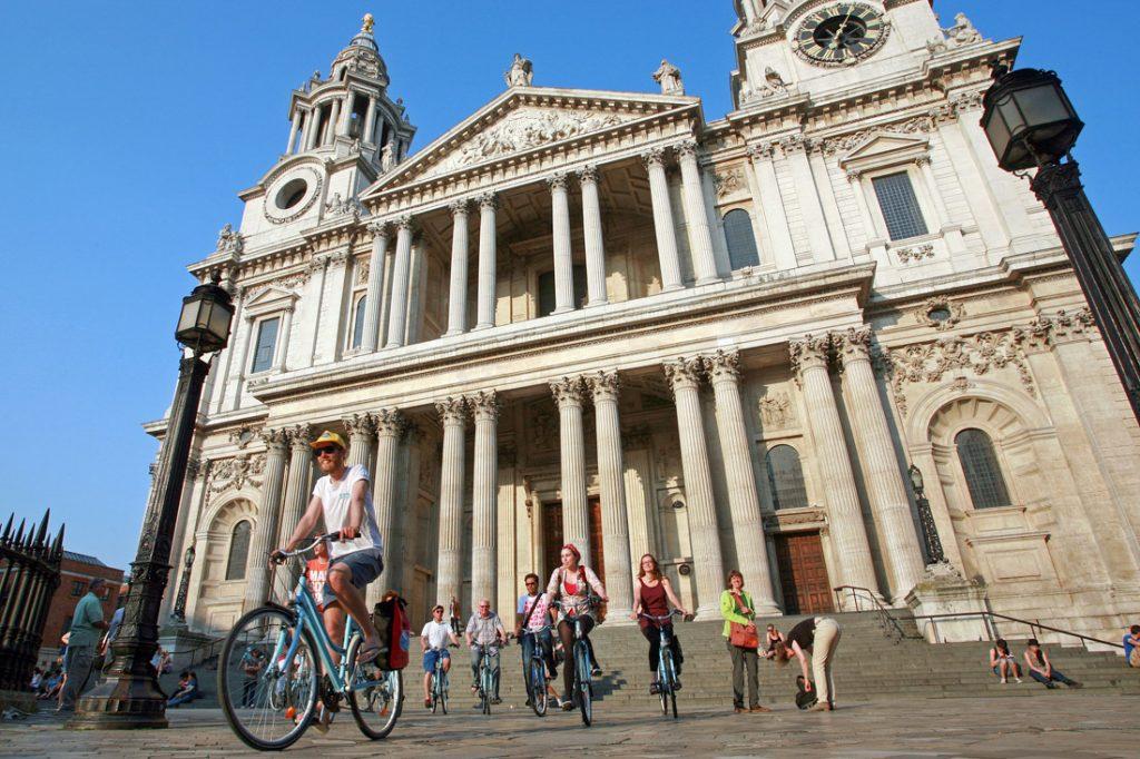 fietstocht met gids in Londen