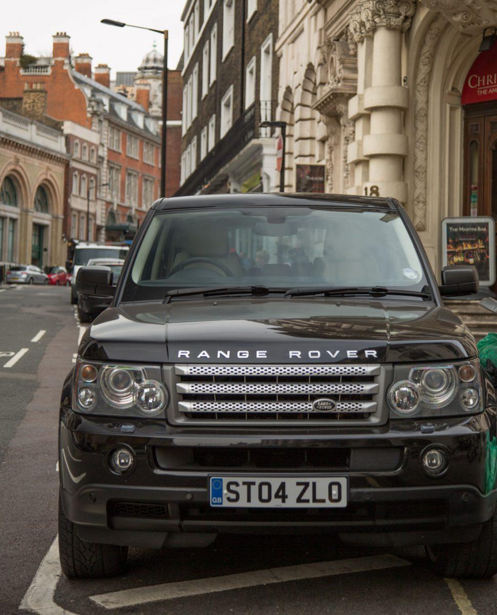 parkeren in Londen